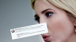 Le compte officiel d'Albert Einstein renvoie Ivanka Trump dans ses