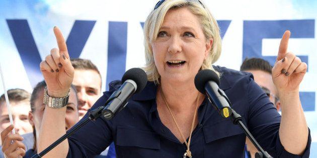 Marine Le Pen fait sa rentrée à Brachay, dans son costume de candidate à l'élection