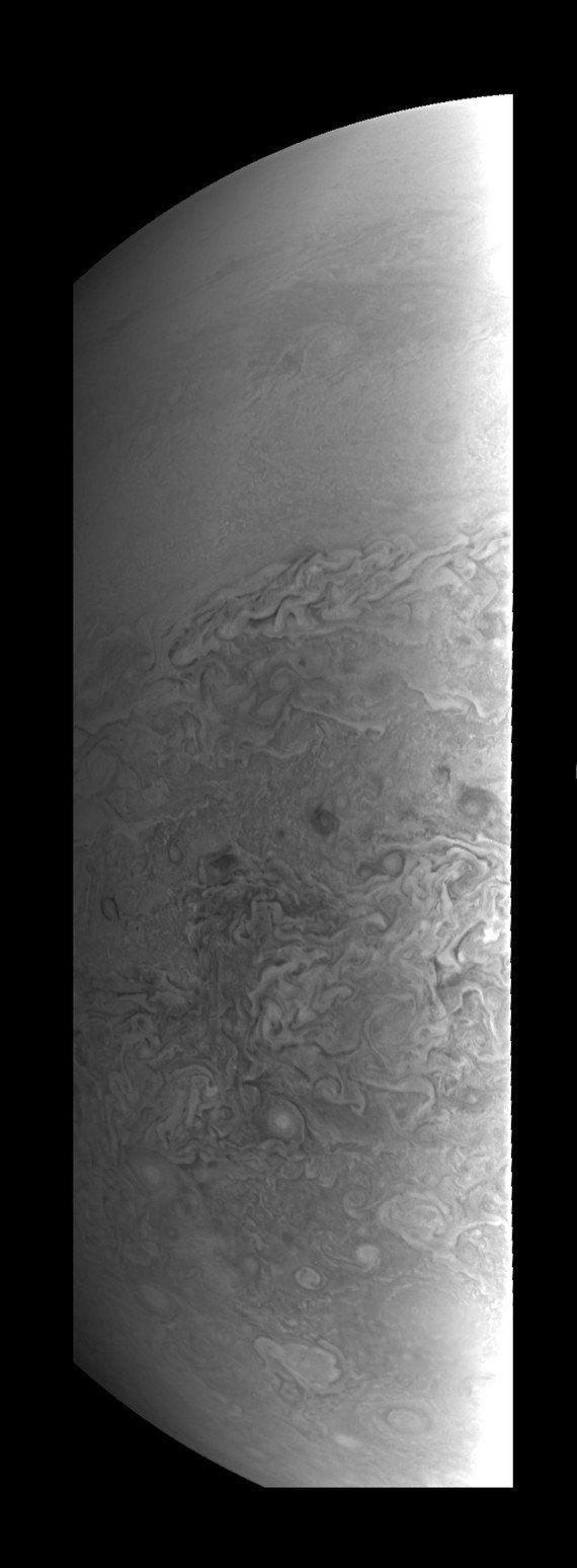 La Nasa dévoile des images en haute définition de Jupiter prises par la sonde