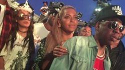 Beyoncé était très bien entourée pour fêter son 35e