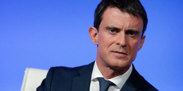French Prime Minister Manuel Valls gives a press conference, at the Prime Minister residence, in Paris,...
