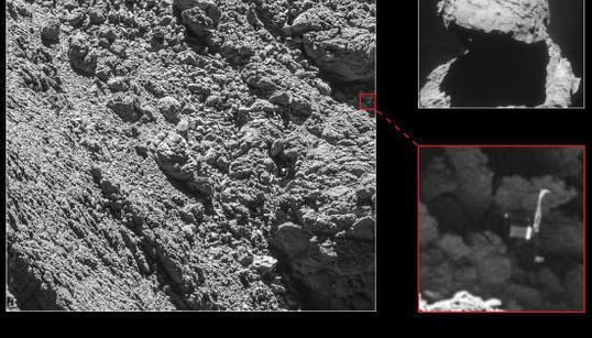 Rosetta a enfin retrouvé Philae sur la comète
