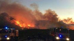 L'incendie de Marseille en passe d'être