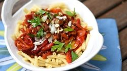 Vite fait, bien fait: Macaroni aux poivrons et aux