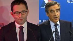 Les discours des deux outsiders arrivés premiers, Hamon et Fillon, sont étrangement