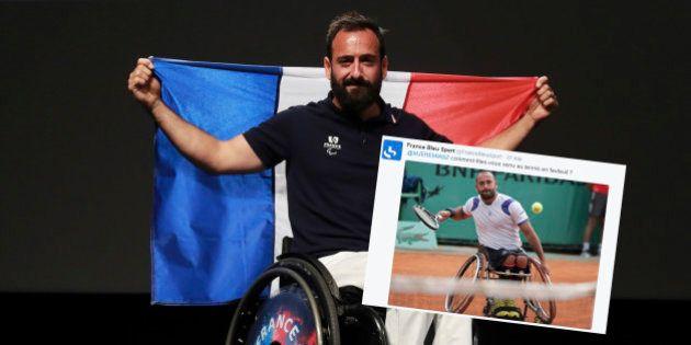 Jeux paralympiques de Rio: le joueur de tennis Michaël Jérémiasz a eu la meilleure des réponses à cette