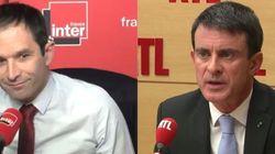 Valls et Hamon n'ont pas perdu de temps pour donner le ton du second tour de la