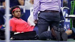Blessé, Tsonga abandonne face à Djokovic en quarts de l'US