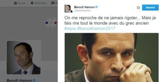 La réponse pleine d'humour de Benoît Hamon aux moqueries sur son micro-parti