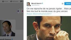 La réponse pleine d'humour de Benoît Hamon aux moqueries sur son