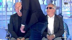 Laurent Baffie gifle Gilles Verdez qui, cette fois, ne s'est pas laissé