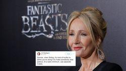 J.K. Rowling ironise sur la façon de