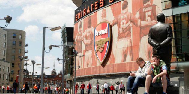 Britain Soccer Football - Arsenal v Aston Villa - Barclays Premier League - Emirates Stadium - 15/5/16...
