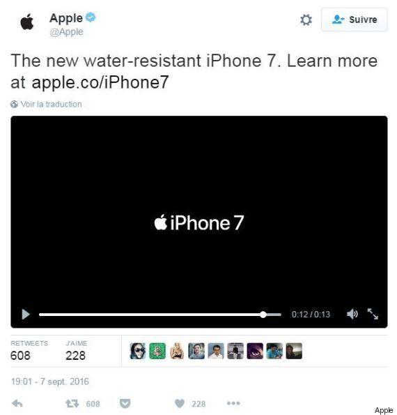Keynote Apple 2016: L'employé d'Apple qui a tweeté l'iPhone 7 avant qu'il soit révélé va passer un sale...