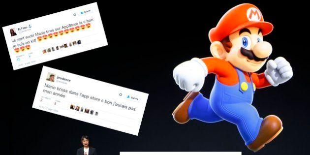 Mario sur iPhone et iPad, Pokemon Go sur l'Apple Watch... et les internautes aux