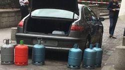 Quatre gardes à vue après la découverte d'un véhicule rempli de bonbonnes de gaz à