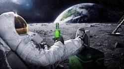 Ils veulent brasser de la bière sur la Lune, et ont de bonnes chances de