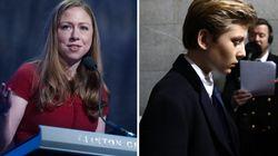 Chelsea Clinton vole au secours du fils de Donald Trump, moqué sur les réseaux