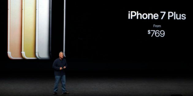 Phil Schiller, Apple's senior vice president of worldwide marketing, talks about the pricing on the new...