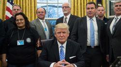 Avortement, libre échange, emploi... En une journée, Trump prend plusieurs décisions
