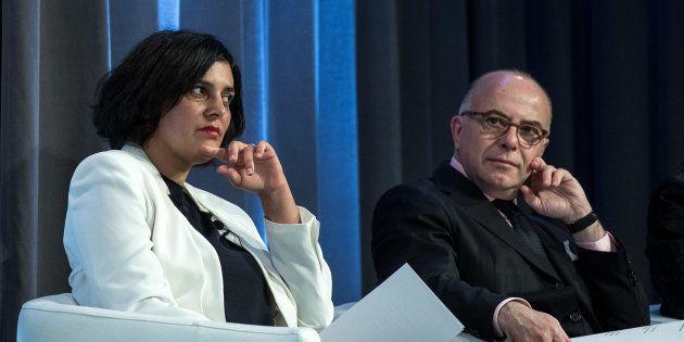 Bernard Cazeneuve et Myriam El Khomri le 12 janvier à