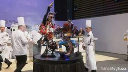 C'est grâce à cette sculpture spectaculaire que la France est championne du monde de