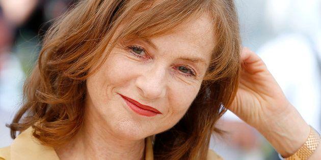 Isabelle Huppert au festival de Cannes