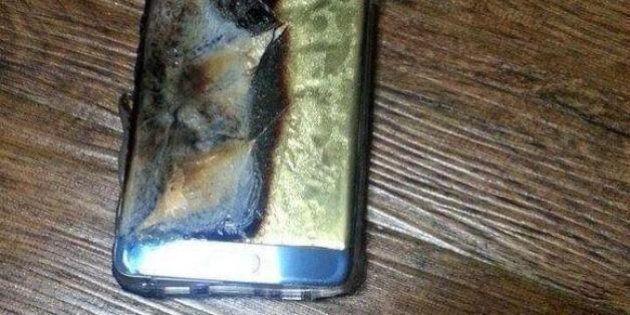 Le Samsung Galaxy Note 7 interdit dans les avions américains suite aux explosions de