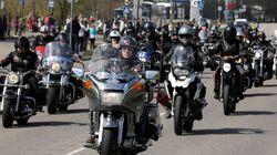 Des bikers escortent une élève victime de