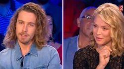 L'instant complice de Julien Doré et Virginie Efira sur le plateau d'