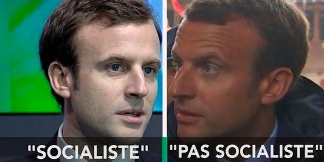 Emmanuel Macron est-il socialiste? Ça dépend des