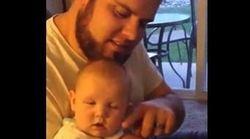 La technique de ce papa pour endormir son bébé est étonnamment