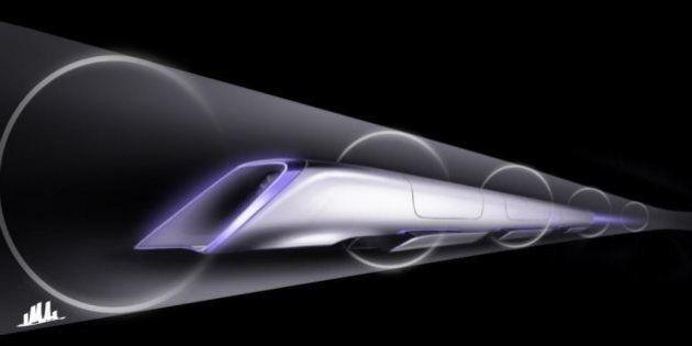 L'Hyperloop, le train du futur, s'installe à