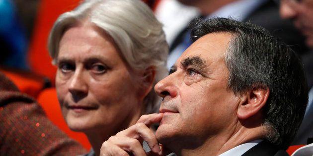 François Fillon et son épouse Pénélope au mois de novembre à