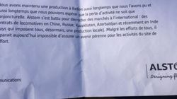 Oups ! Gros malaise à la communication d'Alstom qui contredit Hollande par