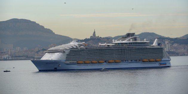 Un canot se décroche du paquebot Harmony of the Seas à Marseille, un mort et quatre