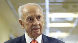Shimon Peres dans un état