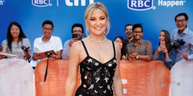 Actress Kate Hudson arrives on the red carpet for the