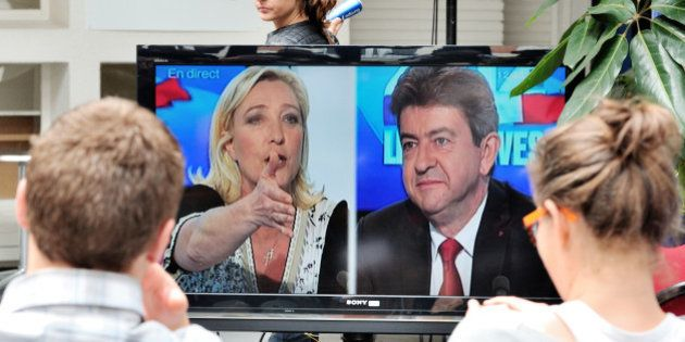 Comparé à Marine Le Pen, Jean-Luc Mélenchon dénonce