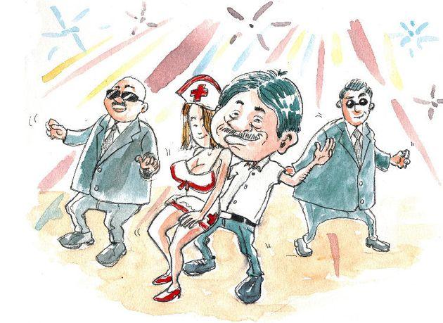 L'ex-président pakistanais, Pervez Musharraf, a été filmé dansant en boîte de nuit et a intrigué les