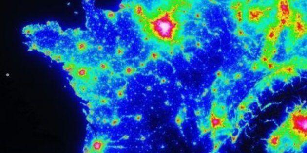 Pour bien profiter de la Nuit des étoiles 2017, découvrez les zones avec le moins de pollution