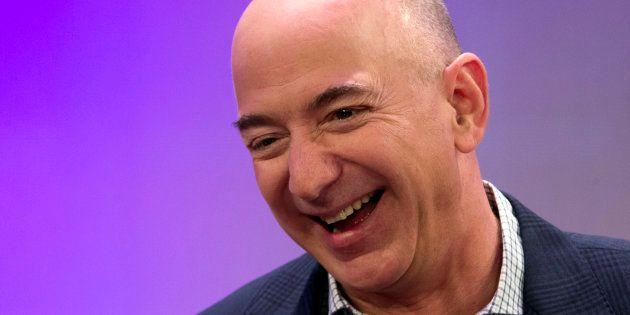 Jeff Bezos, PDG d'Amazon devient l'homme le plus riche du monde selon