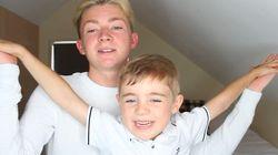 Ce Youtubeur fait son coming-out à son petit frère de 5 ans, et sa réaction est