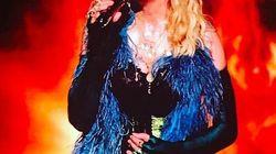 De passage dans le sud incendié, Madonna fait une bourde sur