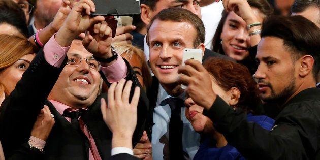 Emmanuel Macron au mois d'octobre à