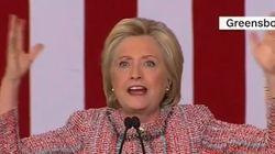 Hillary Clinton a très mal choisi sa musique de fin de