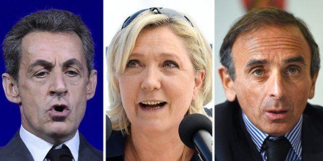 Doublée par sa droite par Sarkozy et Zemmour, Marine Le Pen face à l'écueil de la