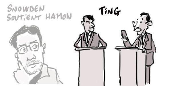 Edward Snowden suit le débat de la primaire de la gauche et soutient Benoît