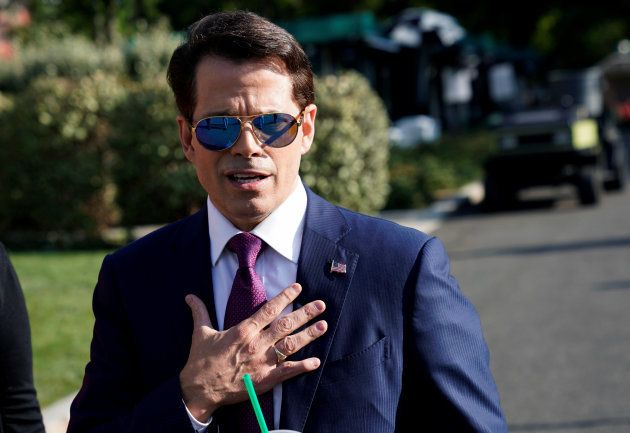 Anthony Scaramucci, le directeur de communication de Donald
