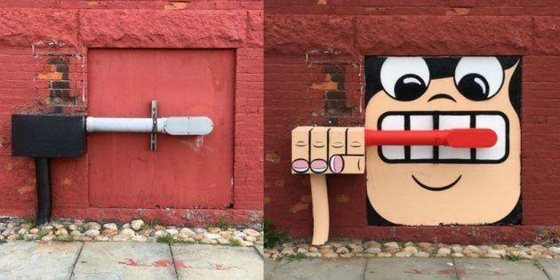 L'artiste américain conquit les rues de New York avec ses créations très